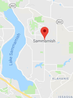 Sammamish roof cleaning territory map